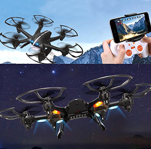 Fm-electrics MJX X600 - Hexacopter mit 300 m Reichweite, Looping Funktion, Heasle Mode, Come Home, XXL, weiß