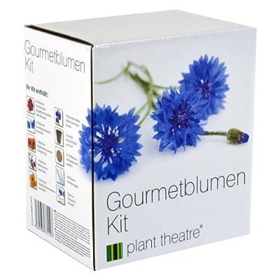 Gourmetblumen-Kit von Plant Theatre - 6 Essbare Blumenarten zum Anbauen ? ein großartiges Geschenk von Plant Theatre - Du und dein Garten