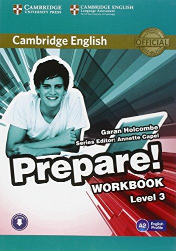 Cambridge English Prepare! Level 3 Workbook with Audio por Garan Holcombe