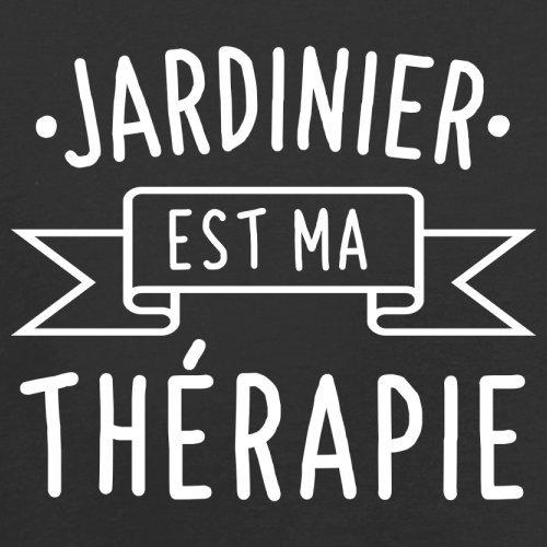 Jardinier est ma thérapie - Femme T-Shirt - 14 couleur Noir