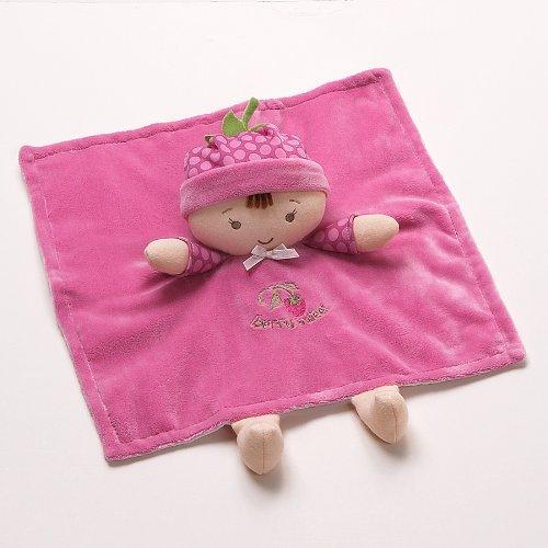 Niedliche Beeren-Puppe, braunhaarig, Satindecke von Baby Gund