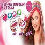 #8: Cpixen Hot Huez Temporary hair colour chalk with 4 colors