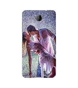 PrintVisa Boy Kiss Girl 3D Hard Polycarbonate Designer Back Case Cover for Microsoft Lumia 650 :: Microsoft Lumia 650 Dual SIM