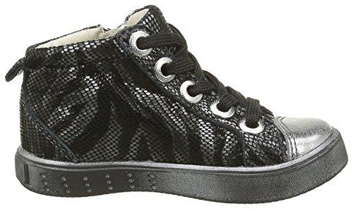 GBB Mädchen Natasha Sneaker Noir (11 Vte Noir/Zébra Dpf/2711)