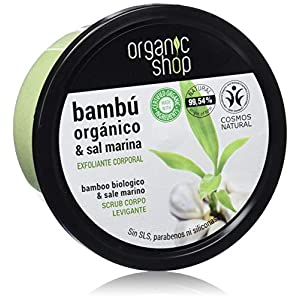 Organic Shop Exfoliante Corporal de Bambú Tropical – 250 ml