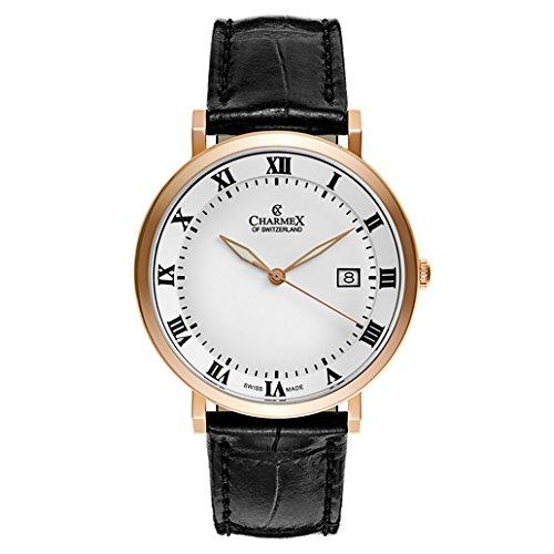 Charmex Copenhagen Reloj de hombre cuarzo 40.5mm correa de cuero 2805