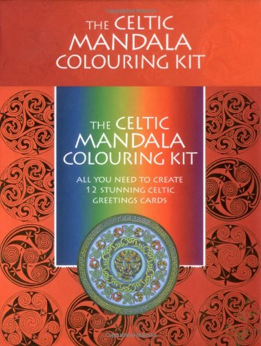 Celtic Mandala Colouring Kit: All You Need to Create 12 Stunning Mandala Greetings Cards (Colouring Kit S.) - Mandala Colouring Kit