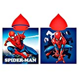 GUIZMAX Poncho de Bain Capuche Spiderman Cape pour Enfant