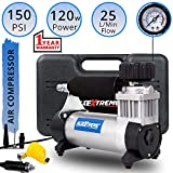 AllExtreme AE-8300 Portable Air Compressor Pump Heavy Duty Tire Inflator with Cigratte Lghter