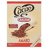 Crastan Cacao Amaro Ideale per Dolci - 250 gr