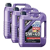 3x LIQUI MOLY 1307 Synthoil High Tech 5W-40 Motoröl Vollsynthetisch 5L