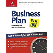 Business Plan In A Day: Get It Done Right, Get it Done Fast (The Planning Shop Series)