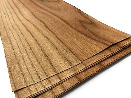 15-17 Furniere in der Holzart Rüster. Furnier geeignet für: Modellbau, Ausbesserungsarbeiten, Restauration, zum Basteln, Intarsien