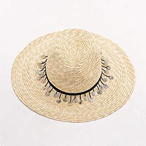 a7c39247cd657 Defect Lady Straw Hat Retro High Top Big Eaves Rushes Straw Hat ...