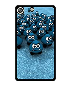 Fuson 2D Printed Cartoon Designer back case cover for Sony Xperia M5 - D4461