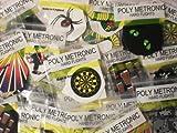 30 Poly Metronic Dart Flights Assorted- AMAZING BARGAIN