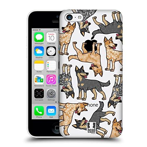 Head Case Designs Rhodesian Ridgebacks Modelle Hunde Rassen 8 Ruckseite Hülle für Apple iPhone 5 / 5s / SE Australischer Hütehund