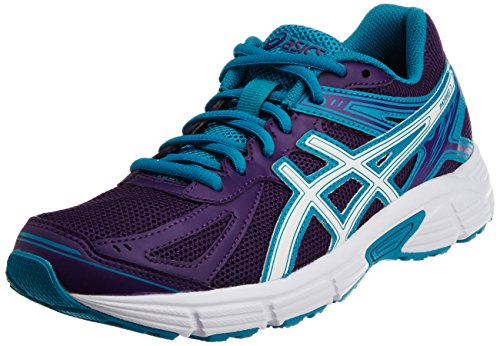 ASICS Women's Gel- Patriot 7 Purple, White and Peacock Blue Mesh Running Shoes -5 UK/India (38 EU)(7 US)  available at amazon for Rs.3199