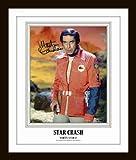 Martin Landau Autographed Signed Framed Photo