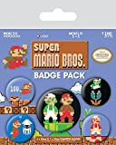 Super Mario Bros. Spilla Pin Badges 5 Pack Pyramid International - Pyramid International - amazon.it