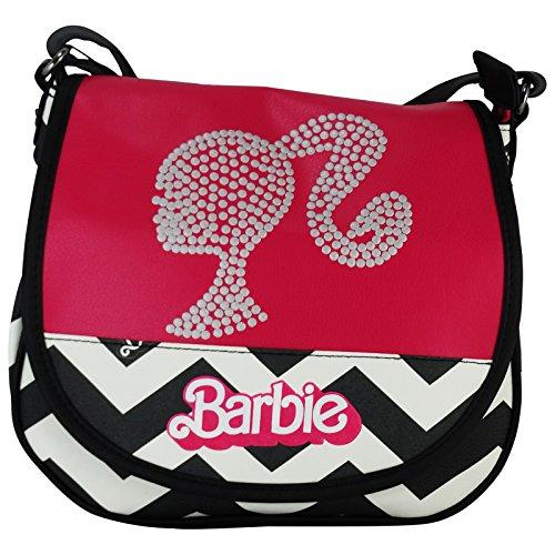 barbie-dream-mattel-borsa-a-spalla-a-tracolla-tempo-libero-multiuso-rosa-nero