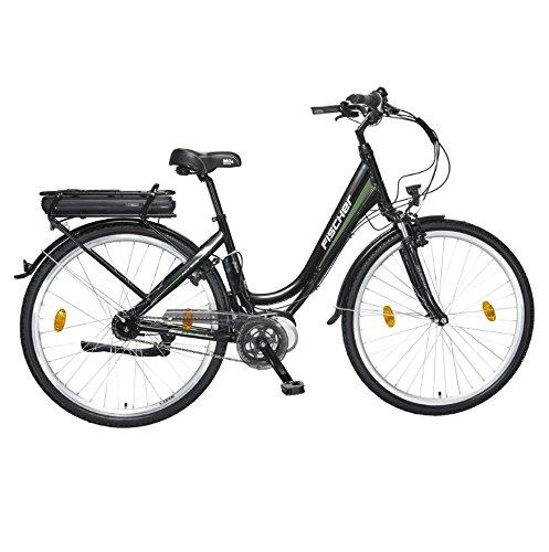 "28\"" Zoll Fischer E-Bike Pedelec Mittelmotor City Shimano Nexus 7 Gang 36V Black"