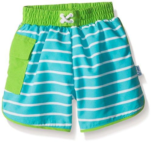 i play. 722185-638-47 Schwimmwindel Board Shorts, 2-3 Jahre, Stripe, aqua
