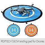 LoKauf PGYTECH 55cm Fast-fold Landing Pad Helipad RC Drone Accessories for DJI Phantom Mavic Spark