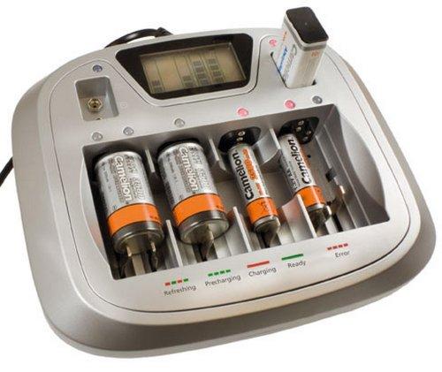 Preisvergleich Produktbild Universal-Schnell-Ladegerät CM-3298, für 1 bis 4 Mingon, Mikro, Baby, Mono, 9V