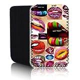 """Cute Sexy Gorgeous Labios 8Inch Tablet Funda para Samsung Galaxy Tab 48.08""""Tablet resistente a los golpes Funda de neopreno antideslizante Protector–rápido de barco"""