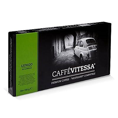 Caffe Vitessa Nespresso Compatible Lungo Coffee Capsules (Pack 50 Capsules)