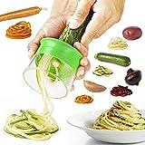 Gemüseschneider Gemüseschneider Gemüseschneider Spiralschneider Gemüse Kartoffeln Spaghetti Gurke Reibe Reibe Karotten Mandoline