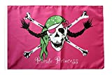 Flaggenfritze® Flagge Pirat Pirate Princess Prinzessin - 30 x 45 cm