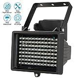 KKmoon IR-Strahler Licht 96 LEDS IR-Strahler CCTV-Kamera-Nachtsicht Night Vision Outdoor Wasserdicht für Überwachungskamera