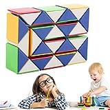 Schlange Magic 3D Cube Spiel Puzzle Twist Toy Party Reise Familie Kind Geschenk