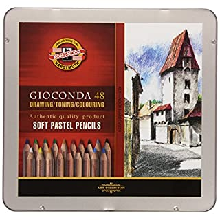 KOH-I-NOOR Artist's Soft Pastel Pencil Set (Set of 48)
