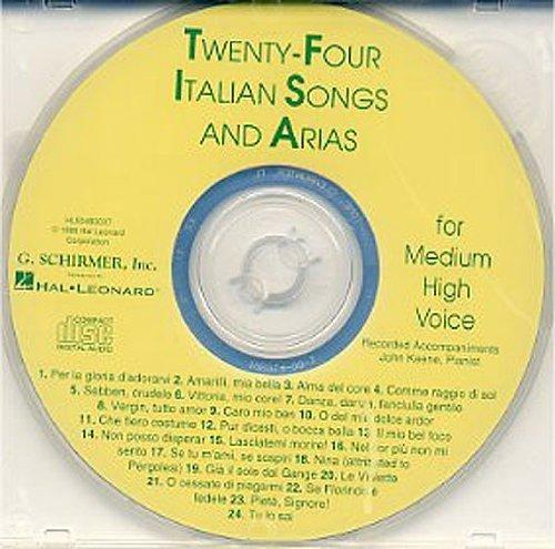 Preisvergleich Produktbild Twenty-Four Italian Songs And Arias Of The 17th And 18th Centuries - Medium High Voice (CD). Für Gesang, Klavierbegleitung