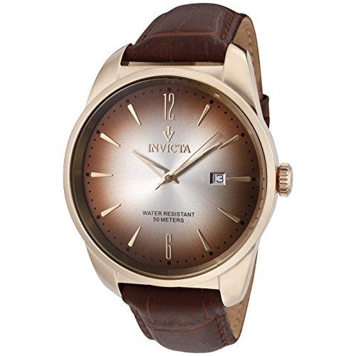 Invicta 11740 Vintage Reloj para Hombre acero inoxidable Cuarzo Esfera oro rossa