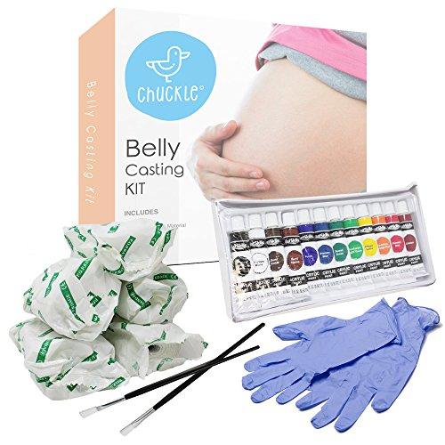 Baby Bauch Gips Abdruck Set – Gipsabdruck Babybauch Kit für Schwangere – das perfekte Geschenk