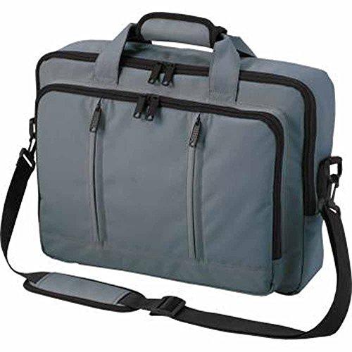 Halfar - Sac sacoche bandoulière transformable sac à dos - 1802765 - gris - pour ordinateur portable jusqu'à 15-16 pouces