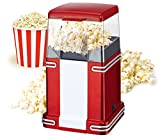 MINI CHEF Classic Style Popcorn Maker - Jumbo Size For Large Quantity