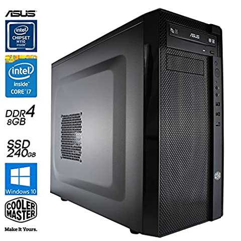 SNOGARD Business Computer | Intel Core i5-6600 | 8GB DDR4 RAM | 250GB SSD | Windows 10 Pro ESD - Desktop PC - Komplett