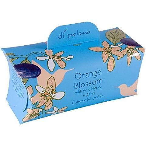 Di Palomo Luxury scented Bath Soap Bar 200g–Orange Blossom by von Palomo (Bath Soap Bar)