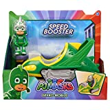 PJ Masks – Voiture Speed Booster – Gekko, Multicolore (Bandai Spain 95233)