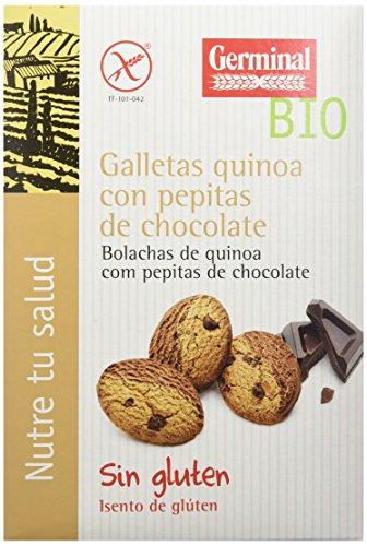 Galletas eco de quinoa y chocolate GERMINAL (8 paquetes 250 gr)