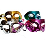 Skky Bell Elegant Carnival/Birthday Party Shining Eye Mask PACK Of 2