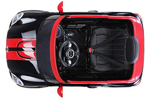 RC Auto kaufen Kinderauto Bild 5: Actionbikes Motors Kinder Elektro Auto Mini Cooper Paceman John Cooper Works Kinderauto Elektroauto Lizenziert 2 x 45 Watt Motor (Schwarz)*