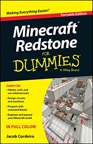 Minecraft Redstone For Dummies (For Dummies (Computers)) (English Edition) por Jacob Cordeiro