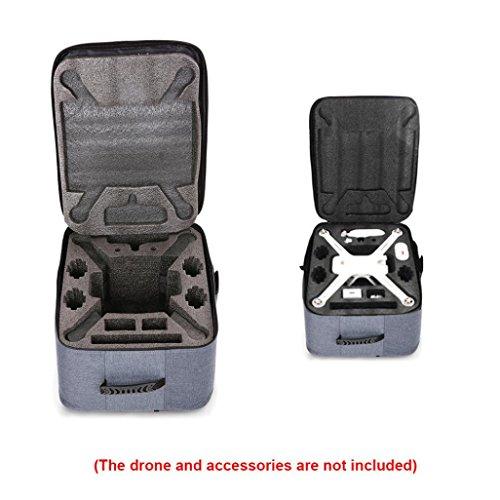 XIAOMI RC Quadcopters Lagerung Rucksack Outdoor Shockproof Rucksack Umhängetasche Weiche Tragetasche Für XIAOMI Mi Drone 4 Karat 1080 P FPV RC Quadcopters (Grau) (Mi-hubschrauber)