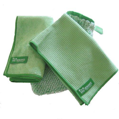 jemako-set-de-3-chiffons-avec-chiffon-45-x-60-cm-chiffon-sec-40-x-45-cm-gant-de-nettoyage-vert